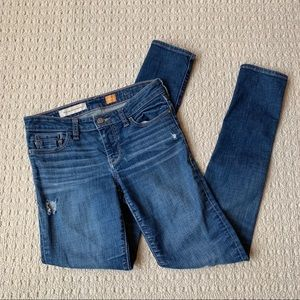 Pilcro and the letterpress Edit skinny jeans 25